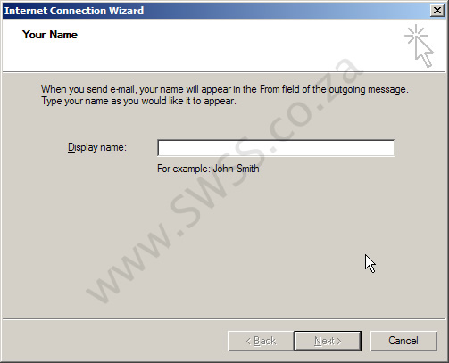Microsoft Outlook Express Email Setup