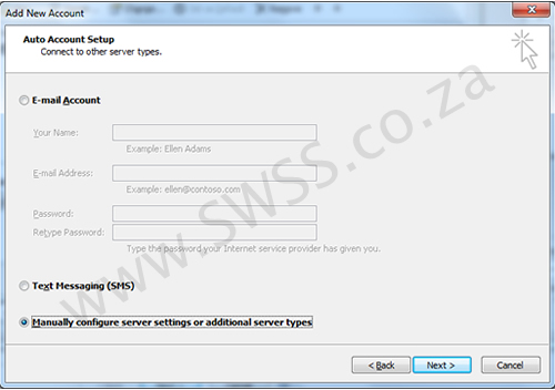 Microsoft Office Outlook 2010 Email Setup