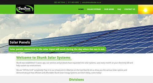 Skunk Solar Systems